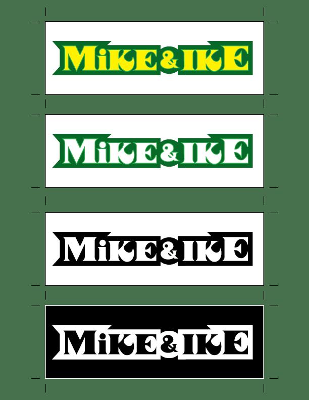 Mike & Ike logos