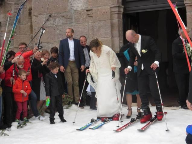 Jean-Michel & Déborah mariage neige (6)