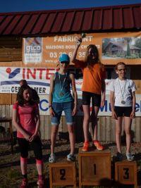 podium filles grand tremplin