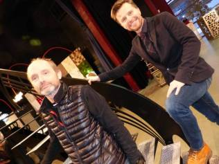 Alain Berguer et Jean-Philippe Foucat organisateurs du Salon de l'Habitat