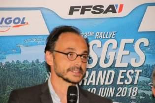 Le président de la Fédé Nicolas Deschaux