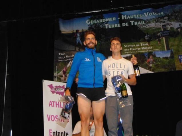 Quentin Arnould de La Bresse et Edouard Planet du Syndicat, premiers espoirs du 56 km