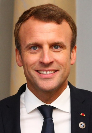 Emmanuel_Macron dejeuné