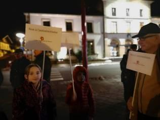 manifestation LDF Parvis droits de l'homme (2)