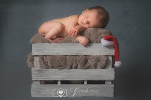 Reportaje de fotos para bebés - Fotos de bebé para navidad (3)