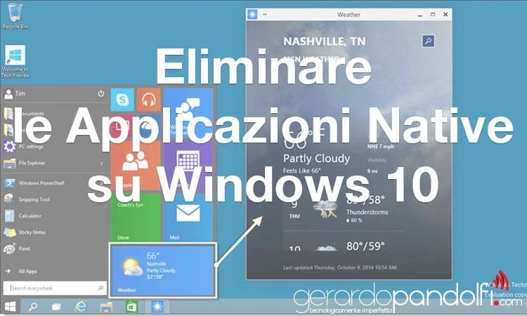 eliminare_app_native_windows_10