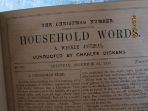 Household Words: The Christmas Numbers Inside