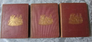 A Child's History of England 3 Vols. Front covers