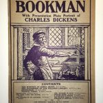 {The Bookman} with a Presentation Plate Portrait of Charles Dickes March, 1908