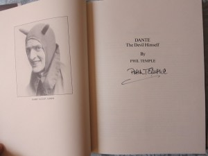 Dante The Devil Himself Signed Title Page