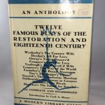 Twelve Famous Plays of the Restoration and Eighteenth Century