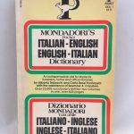 Mondadori's Pocket English-Italian Italian-English Dictionary