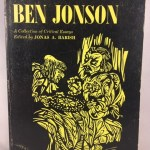 Ben Johnson - A Collection Of Critical Essays