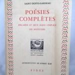 """Poesies Completes - Regards et Jeux Dans L""""espace / Les Solitudes"""