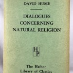 Dialogues Concerning Natural Religion: The Hafner Library of Classics Number Five