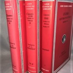 Cicero Letters to Atticus. 3 vols. Books I-VI; VII-XI; XII-XVI (Loeb Classical Library) (English and Latin Edition)