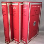 Cicero: Letters to His Friends. 3 Vols. (of four) [Books - I-VI; VII-XII, XIII-XVI] [Loeb Classical Library]
