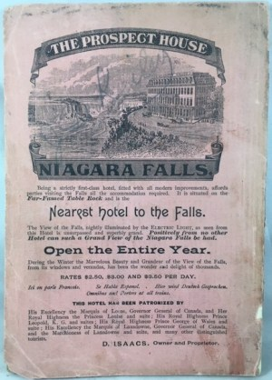 The Great Cataract Illustrated. and complete guide to all points of interest at and in the vicinity of the Falls of Niagara.