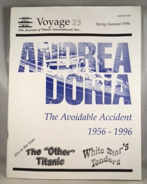 Voyage 23: The Official Journal of the Titanic International Society [Spring-Summer 1996 ]