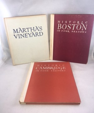 Portsmouth, New Hampshire; Old Marblehead;; Historic Salem in Four Seasons; Historic Cambridge in Four Seasons; Historic Boston in Four Seasons; Martha's Vineyard