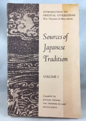 Sources of Japanese Tradition, Vol. 1