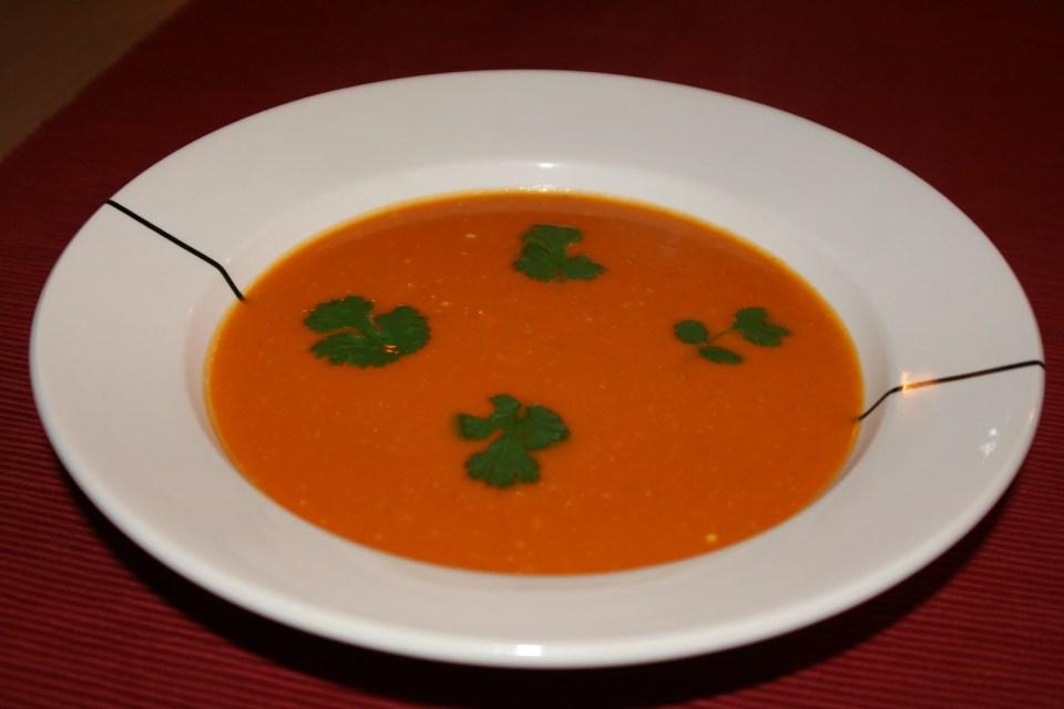 Curry pompoensoep