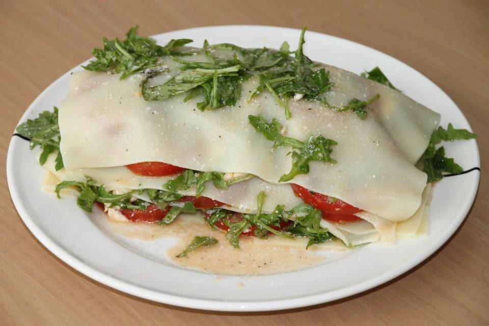Lasagnesalade