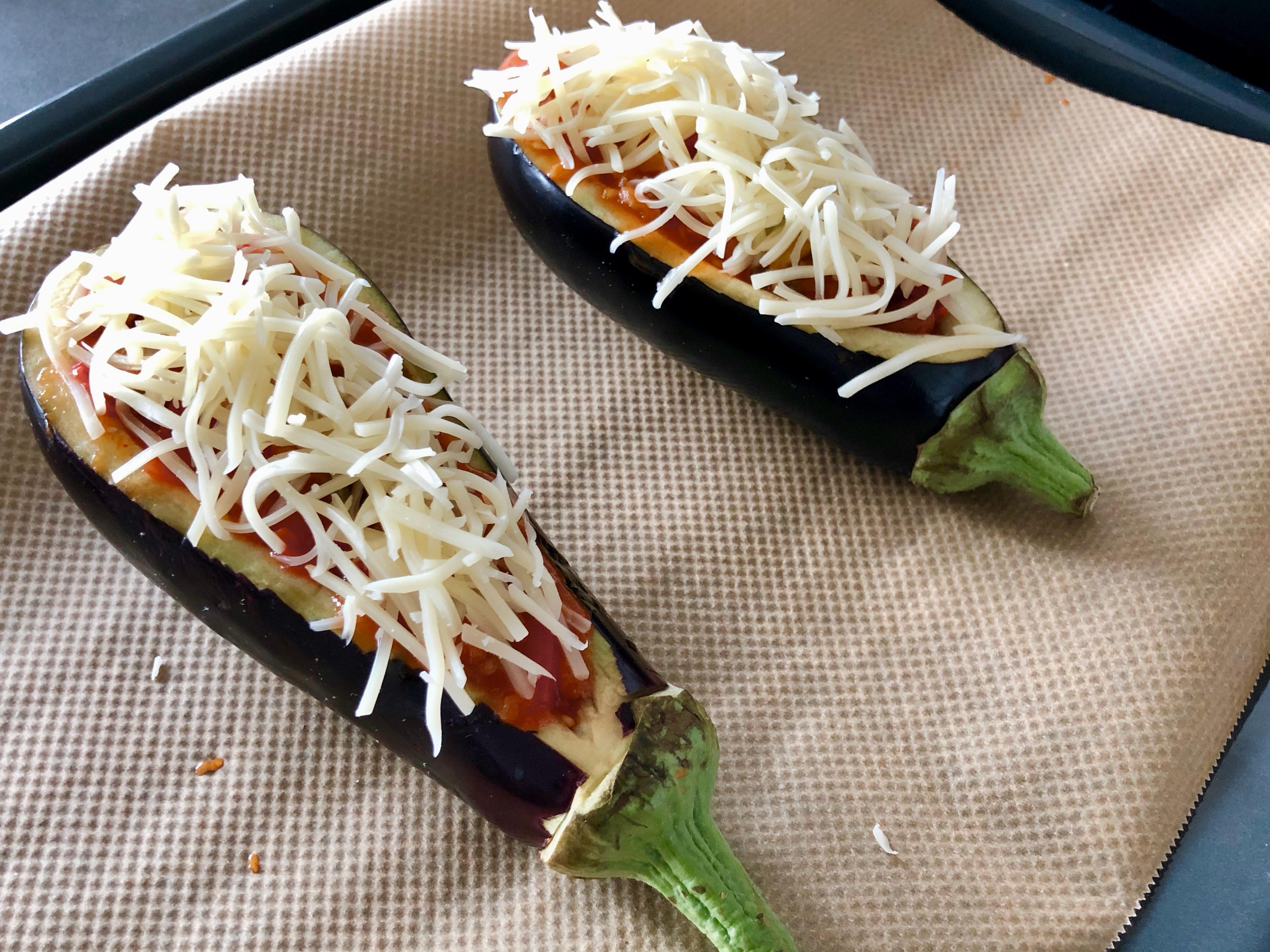 aubergine con chili