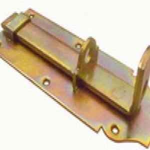 Hangslotschuif 18cm met sluitbeugel