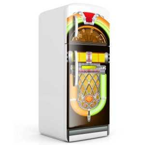 Sticker keuken jukebox koelkast