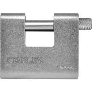 Stanley 81081 372 401 Hangslot 80 mm Sleutelslot