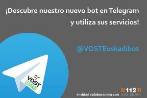 BOT Telegram VOST Euskadi