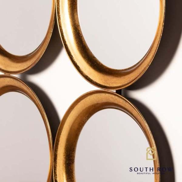 Harriet gold wall mirror