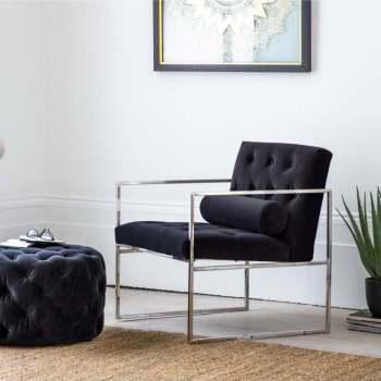Sergio Chair & Footstool
