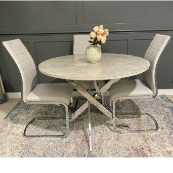 Ceramic Round Table