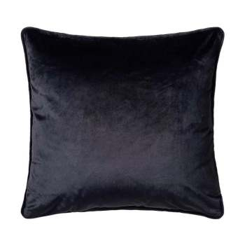 Scatter Box Bellini Velour 45x45cm Cushion, Navy