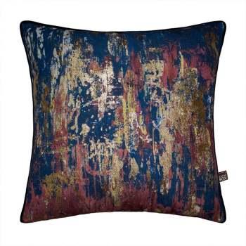 Scatter Box Allegra 45x45cm Cushion, Navy/Terra