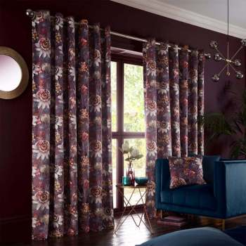 pasionaria curtains mulberry