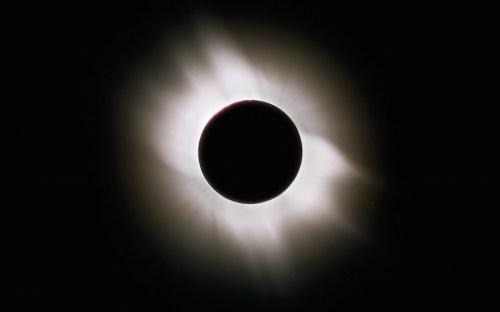 Gerhana Matahari Total 2006. Kredit: Geoff Simms