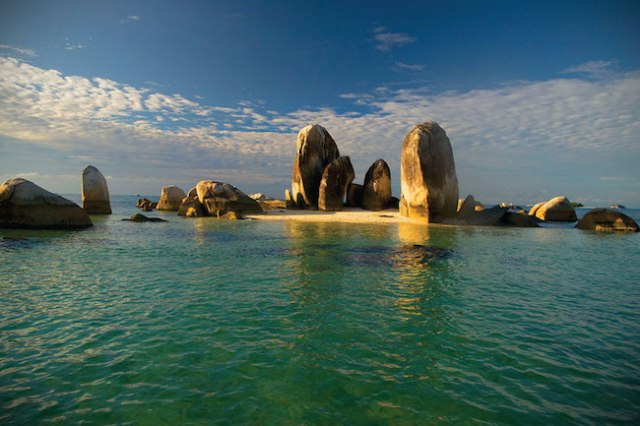 Keindahan Bangka Belitung. Kredit: Indonesia.travel
