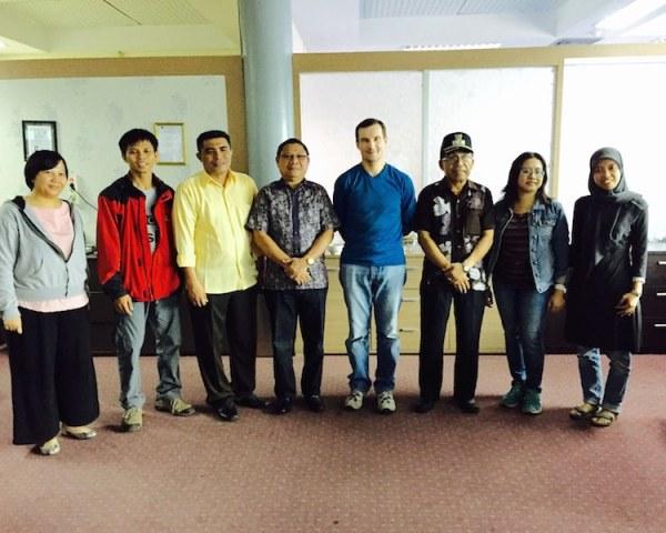 Foto bersama Sekda Maluku Utara dan Kepala Dinas Pariwisata Maluku Utara