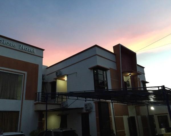 Suasana Hotel Bolote di pagi hari sebelum ke Maba.