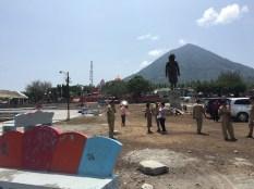 Pembangunan Taman Festival Jailolo. Kredit: Avivah Yamani