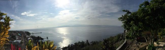 Arah Timur dari Benteng Tahula. Kredit: Avivah Yamani