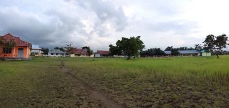 Halaman SMK 5 di Maba. Kredit: Ratna Satyaningsih