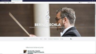 Bernd Lechla - Organist, Chorleiter, Dirigent, Komponist, Arrangeur