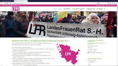 LandesFrauenRat Schleswig-Holstein