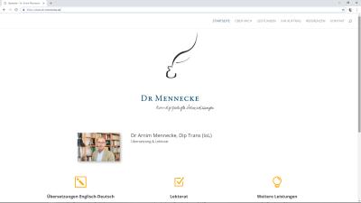 Dr. Arnim Mennecke | Übersetzungen Englisch-Deutsch und Lektorat | Kiel