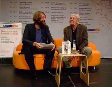 KULTURFORUM Eckhard Henscheid @ B2-Diwan, Literaturfest München 2014-12-02 (10)