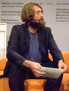 KULTURFORUM Knut Cordsen @ B2-Diwan, Literaturfest München 2014-12-02